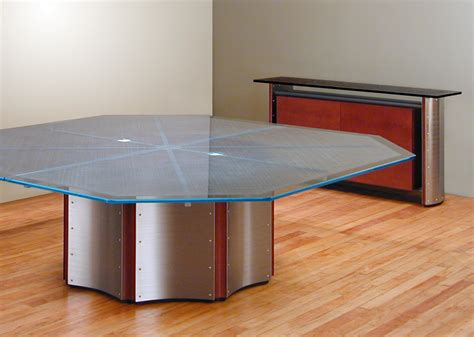 Reception Desk Sale Octagon Conference Table Large Round Meeting Table