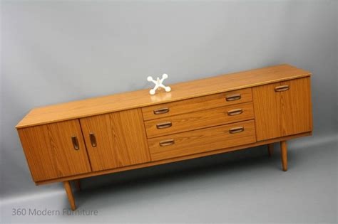 mid century sideboard buffet tv unit retro vintage