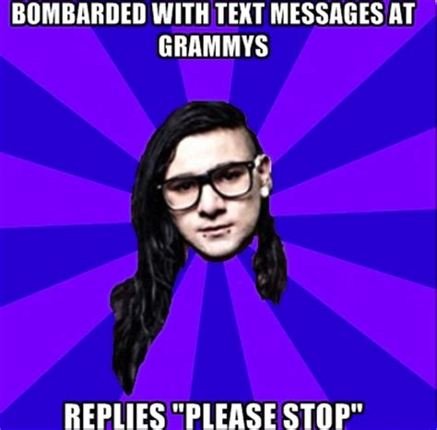 Skrillex Meme - skrillex meme tumblr