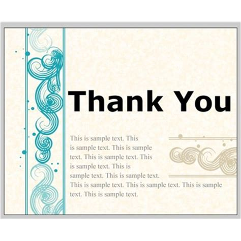 thank you page template professional greetings email templates business email