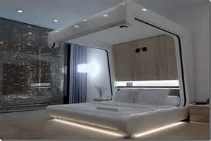 high tech bedroom of the future bed of the future