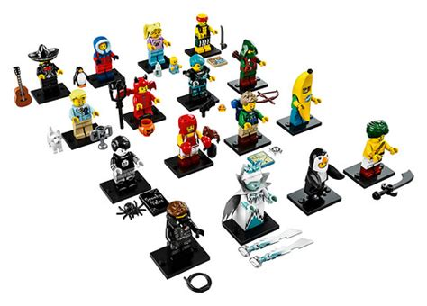 Penguin Boy Minifigures Series 16 Minifigure Misp New Sealed lego collectible minifigures series 16 71013 feel guide