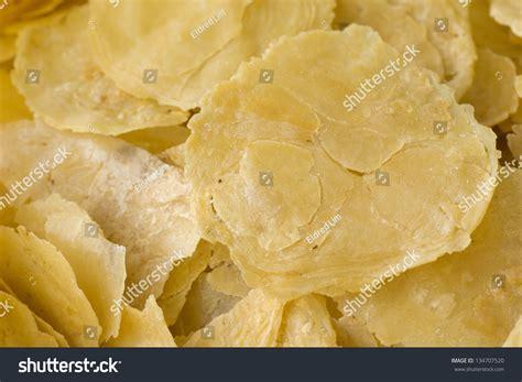 emping blinjo melinjo belinjo chips  stock photo