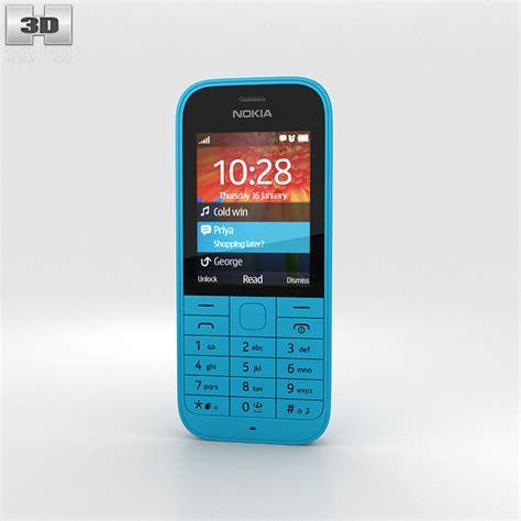 Www Hp Nokia 220 nokia 220 cyan 3d model humster3d