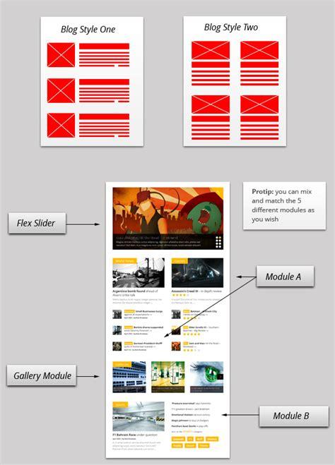 Wordpress Theme Flexible Layout | gonzo wordpress theme for magazine best wordpress