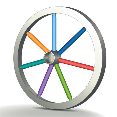 Wheel Of the wheel a social media marketing kit polka dot