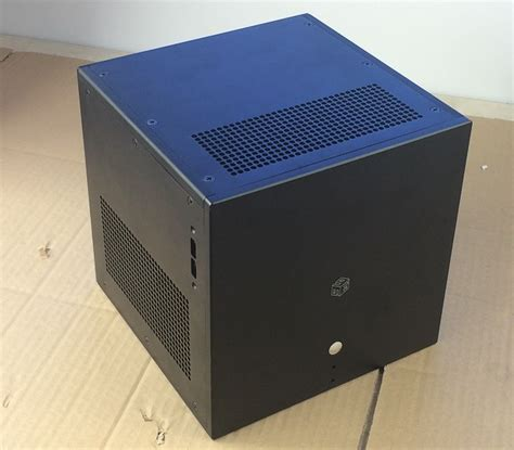 diy aluminum pc aluminum chassis itx air cooled computer enclosure