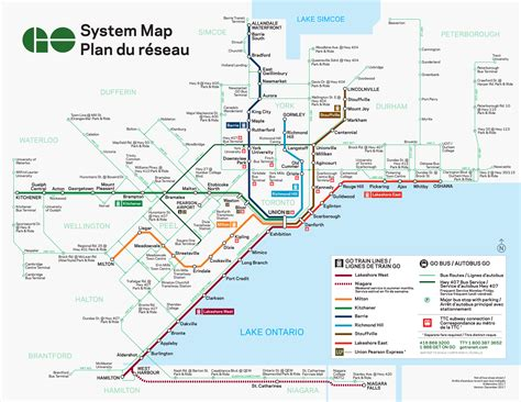 system map system map trip planning go transit