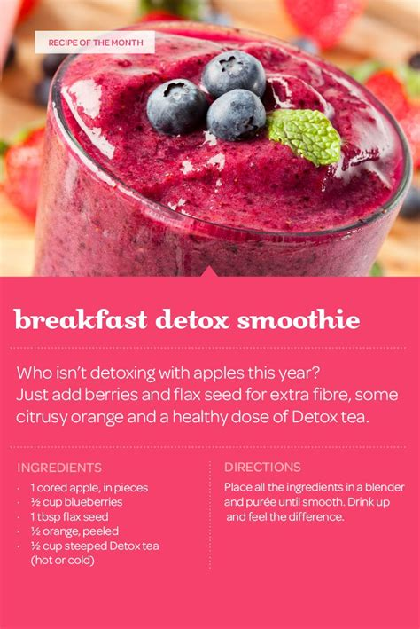 Easy Detox Breakfast Smoothie by Best 25 Davids Tea Ideas On Leaf Tea