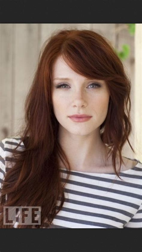 dallas haircuts and colors bryce dallas howard pretty people pinterest bryce