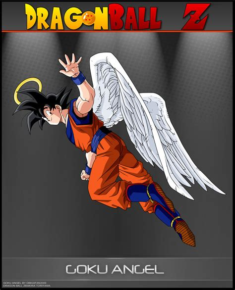 imagenes de goku angel goku dragon ball z fan art 35800152 fanpop