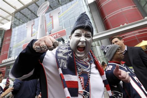 patriots fans it s here patriots fans energized for bowl sunday