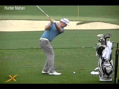 hunter mahan driver swing hunter mahan 2012 masters at augusta national golf club