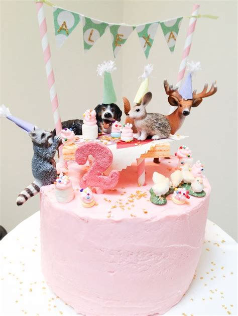 Handmade Birthday Cake - s diy animal parade birthday cake inspired by