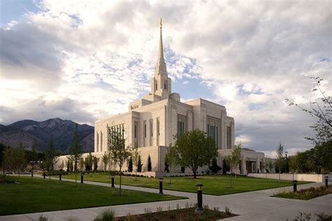 lds temple open house traffic patterns to be adjusted in ogden due to lds church s temple open house
