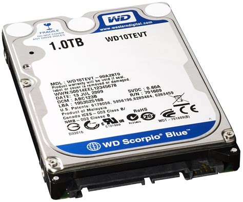 Harddisk Drive 1 Tb western digital 1tb drive creates dilemma for laptop
