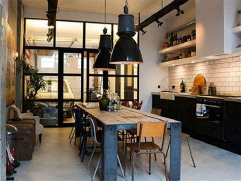 mengenal elemen dasar  ciri khusus desain rumah gaya industrial modern interiordesignid