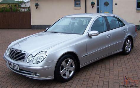 mercedes e270 cdi 2004 mercedes e270 cdi avantgarde auto brilliant silver