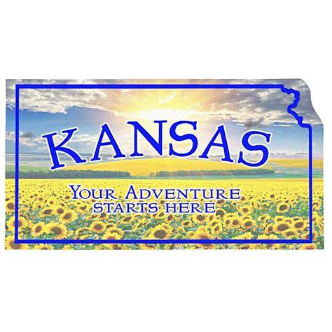 4imprint.com: Flat Flexible Magnet   State   Kansas   30