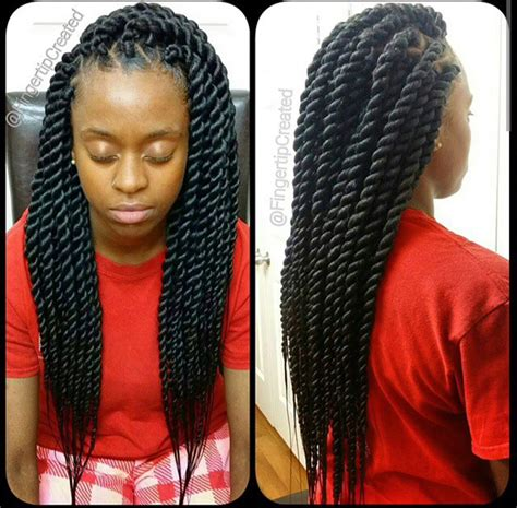 large twist braids chunky senegalese twists protective hair styles can be