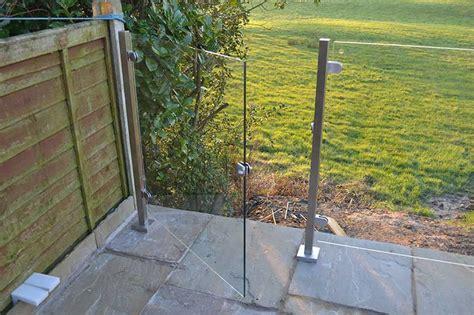 Stainless Steel & Glass Balustrades   £280 per metre inc vat.