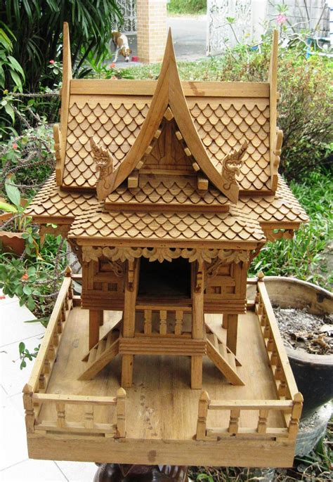 spirit house nongnit s treasures thai spirit houses saan pra phum