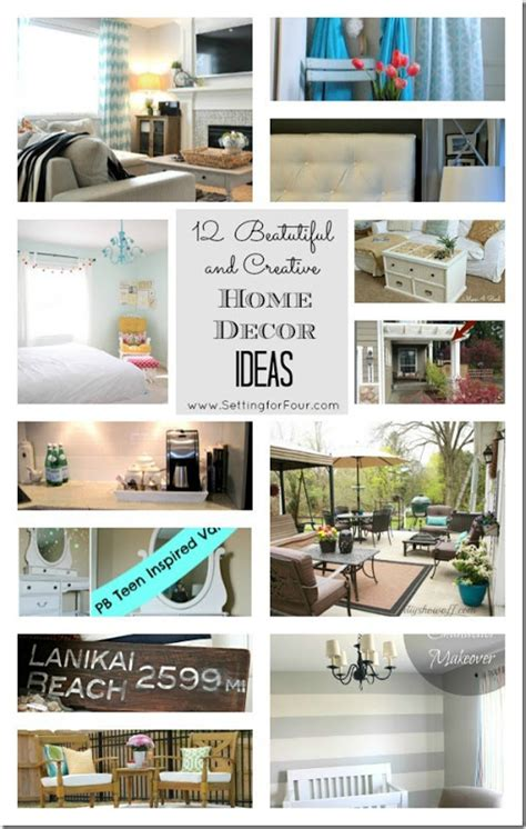 creative ways to decorate your home 12 beautiful and creative ways to decorate your home