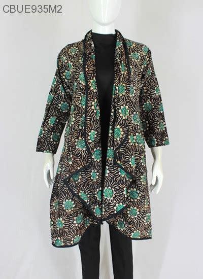 D1125 Dress Rompi Inner Outer outer batik lengan motif batik wanita exclusive murah batikunik