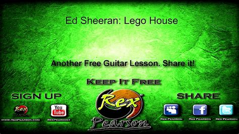 lego house tutorial guitar easy lego house strumming pattern myideasbedroom com