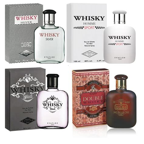 Parfum Original evaflor whisky edt 100ml for 4 varian parfum