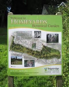 Botanical Garden Information Information Board Homeyards Botanical 169 Robin Stott Cc