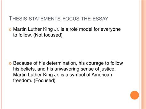 Why Should I Do A Thesis by What A Thesis Statement Is And What It Isn T