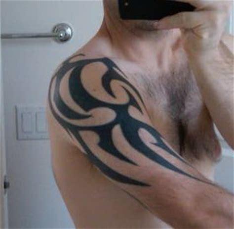 half body tattoo tribal zoom tattoos half sleeve tattoo gallery 1