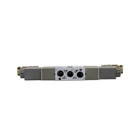 Solenoid Valve Pilot 5 2 Drat 1 8 Inch 1 8 quot npt dc24v pneumatic solenoid valve 2 position 5 way toolots