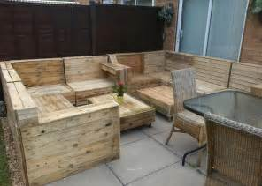 Garden Furniture by Garden Furniture Ideas With Pallets