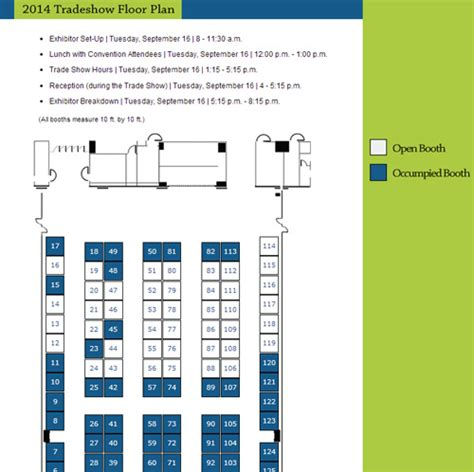 trade show floor plan tradeshow floor plan illuminage communication partners