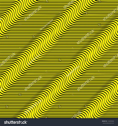 yellow wavy pattern wavy lines seamless pattern yellow waves optical illusion