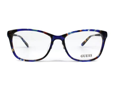 Guess Where This Is From 16 by Guess Brille Gu 2500 F 092 Blau Visionet