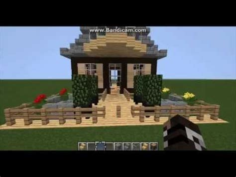 nice house designs minecraft minecraft nice detailed small house design youtube