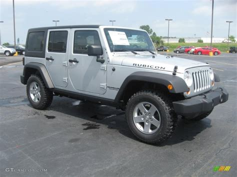 jeep rubicon silver bright silver metallic 2011 jeep wrangler unlimited