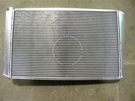 1975 corvette radiator 1973 1976 corvette 28 quot aluminum radiator replacement