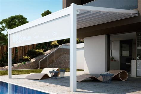 tettoia amovibile realizzare coperture terrazzi coprire il tetto come