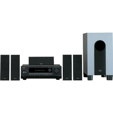 onkyo ht sr700 5 1 channel home theater system black ht