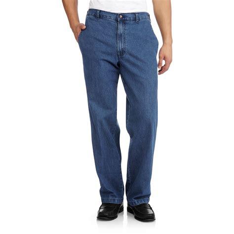 Band Waist Slim Fit mens elastic waist ye jean