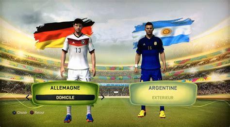 finale de la coupe du monde 2014 allemagne argentine le