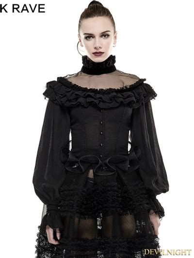 Lantern Sleeve Shirt black lantern sleeves shirt for
