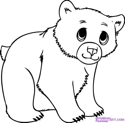 coloring page bear cub free coloring pages of baby cub