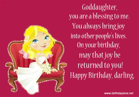 Happy Birthday Wishes For A Goddaughter Birthday Quotes For Godmother Quotesgram