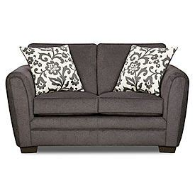 big lots sofa pillows simmons 174 flannel charcoal loveseat with pillows at big