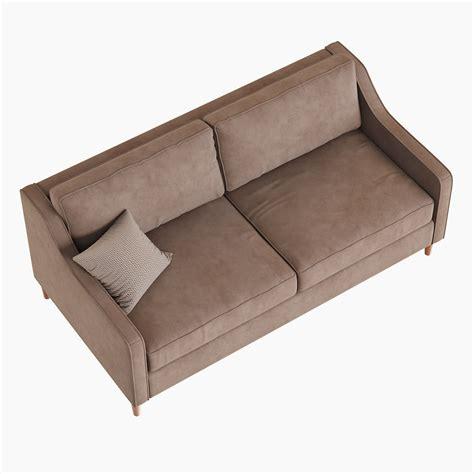 west elm paidge sofa west elm paidge sofa 3d model max obj fbx cgtrader com